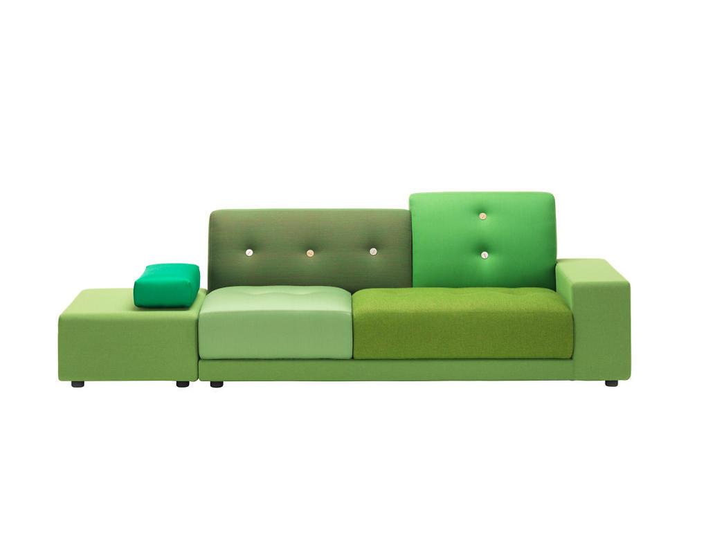 Vitra Pohovka Polder Sofa, green