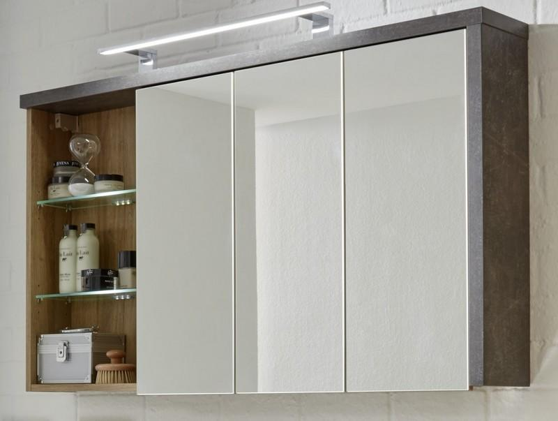 Kúpeľňová skrinka so zrkadlom Bay 503
