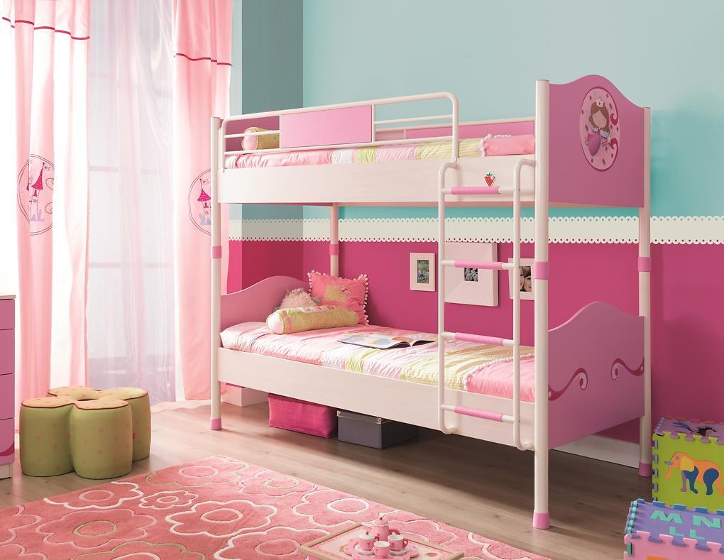 Poschodová posteľ rozkladacia Princess