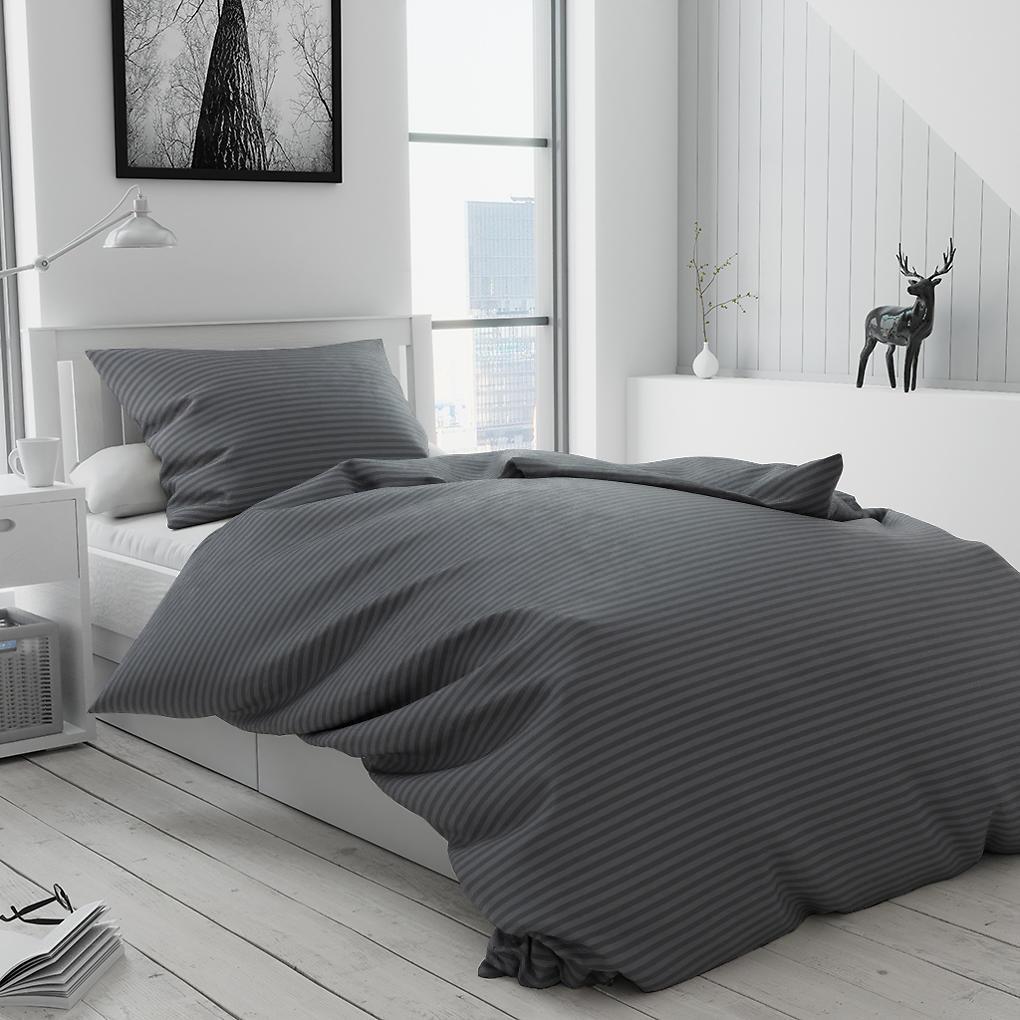 Bavlnené obliečky Alterna sivé